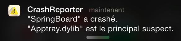 Crash Reporter : Comprendre la raison de vos crashs sur