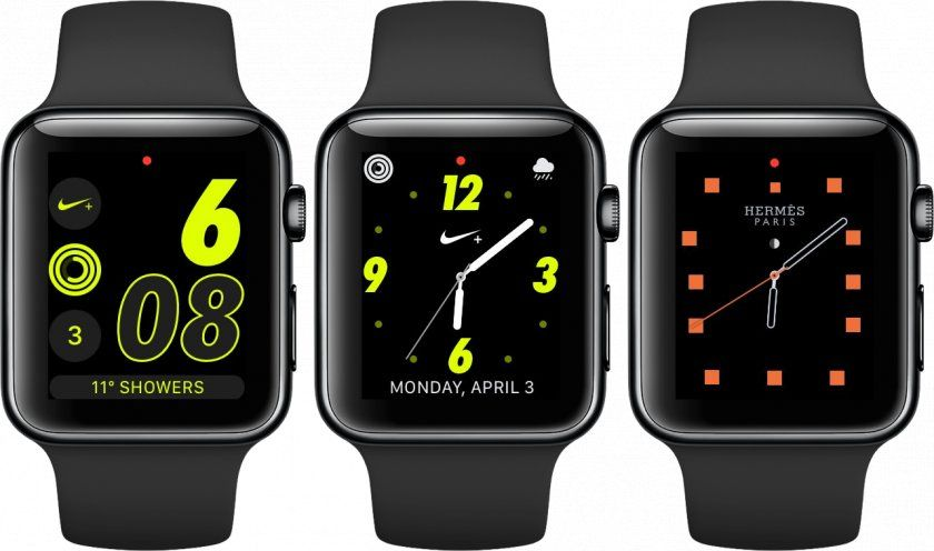 hermes nike plus watch face