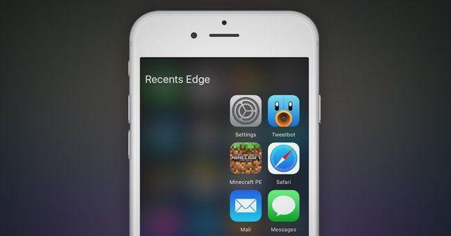 Edge : le tweak inspiré du Galaxy S7 qui ajoute des raccourcis