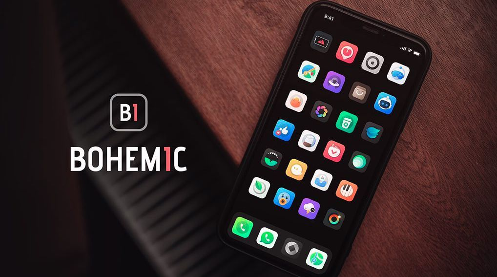 Bohemic : Un thème de qualité aux icônes biens pensées