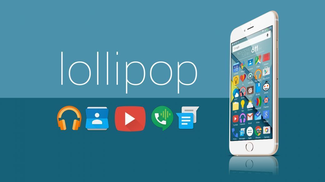 theme android 5.0 lollipop iphone