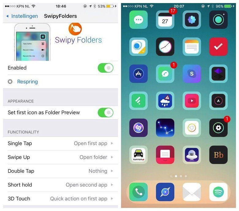 swipyfolders tweak